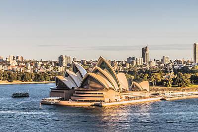 Sydney Skyline Photograph - Sydney Opera House by Carlos Cano