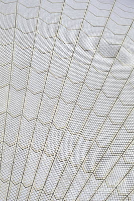 Photograph - Sydney Opera House Ceramic Roof by Rudi Prott