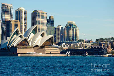 Photograph - Sydney Opera House.  by David Hill