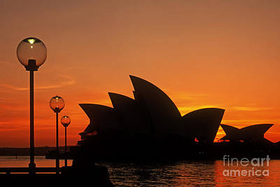 Photograph - Sydney Opera House by Inge Riis McDonald