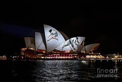 Photograph - Sydney Opera House  Iv by Ray Warren