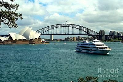 Photograph - Sydney Opera House by John Potts