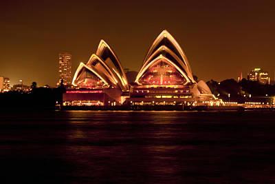 Photograph - Sydney Opera House by Miroslava Jurcik
