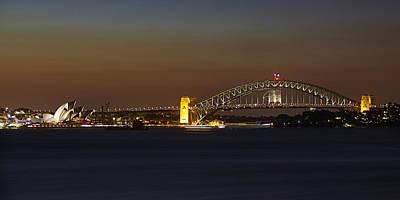 Photograph - Sydney Opera Landscape by RSRLive Arts