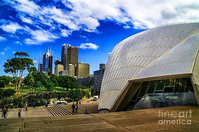 Photograph - Sydney Opera Park by Rick Bragan
