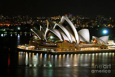 Eye Candy Photograph - Sydney Opera by Syed Aqueel
