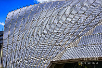 Photograph - Sydney Opera Up Close by Rick Bragan