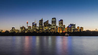 Sydney Skyline Photograph - Sydney Skyline by Carlos Cano