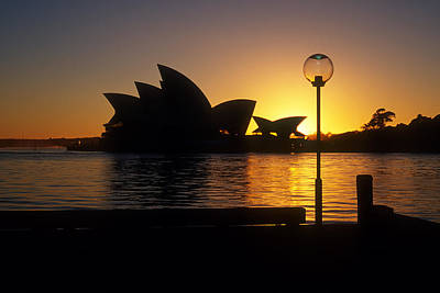 Photograph - Sydney Sunrise by Inge Riis McDonald