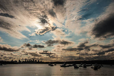 Photograph - Sydney Sunset by Harry Spitz