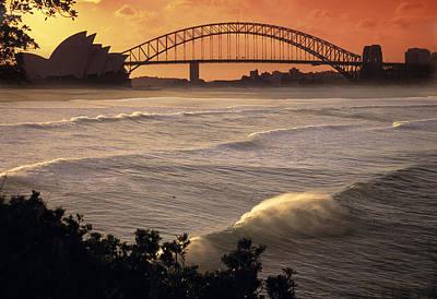 City Scape Photograph - Sydney Surf Time by Sean Davey