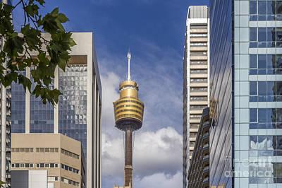 Photograph - Sydney Tower by Jola Martysz