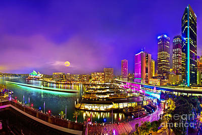 Royalty-Free and Rights-Managed Images - Sydney Vivid Festival 2012 by Az Jackson