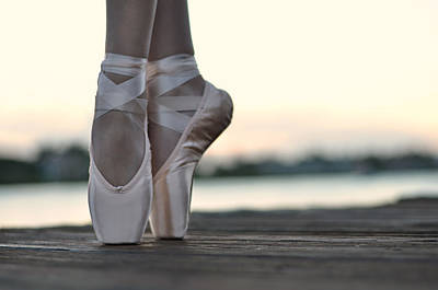 Pointe Shoes Photograph - Sylph by Laura Fasulo