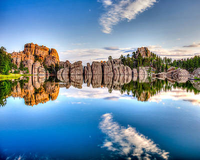 Photograph - Sylvan Lake by David Wynia