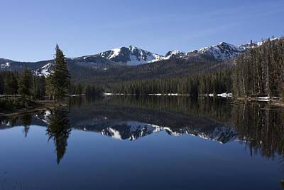 Sylvan Lake Reflection - Yellowstone Art Print