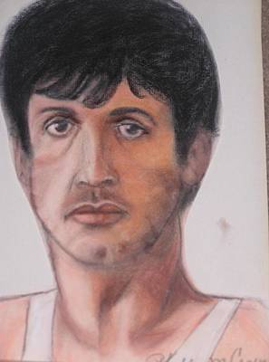 Sylvester Stallone Drawing - Sylvester Stallone by Phyllis Causey