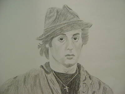 Sylvester Stallone Drawing - Sylvester Stallone by Rahul Verma