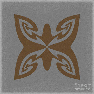Watermark Mixed Media - Symbol - Refleck by Donna E Pickelsimer
