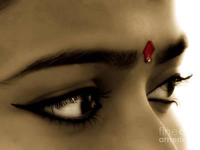Symbol Of Love Bindi Original by Sapna Mondol