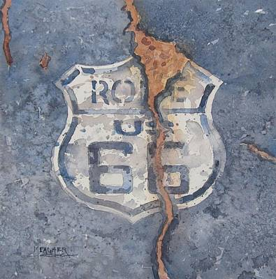 Symbol Of The Mother Road Original