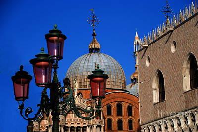Photograph - Symbols Of Venice by Jacqueline M Lewis