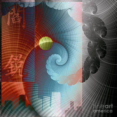 Digital Art - Symbols by Ursula Freer