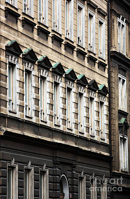 Photograph - Symmetry In Prague by John Rizzuto