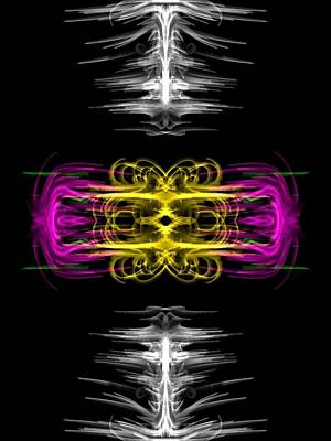 Digital Art - Symmetry by Kruti Shah