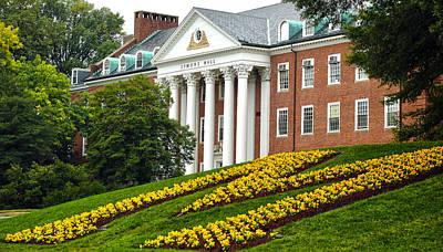 University Of Maryland Photograph - Symons Hall by Mitch Cat