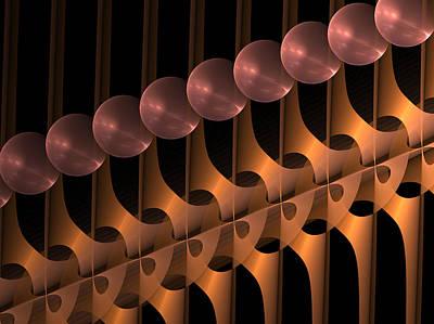 Art Print featuring the digital art Symphony by Gabiw Art