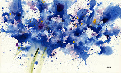 Painting - Symphony In Blue by Jerome Lawrence