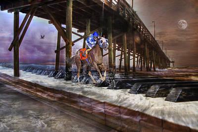 Jockey Digital Art - Symphony Keys by Betsy C Knapp