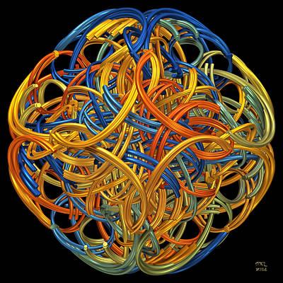 Digital Art - Symphony by Manny Lorenzo