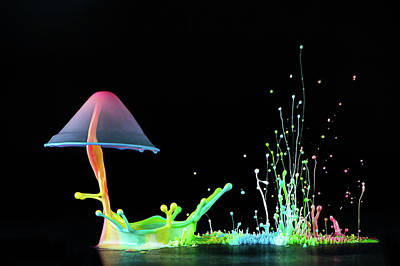 Fire Photograph - Symphony Of Colors by Suwandi Lim