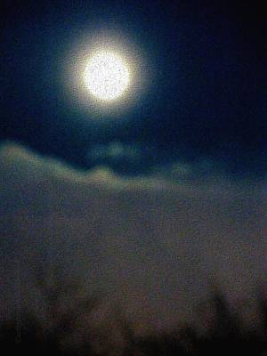 Silver Lining Photograph - Symphony Of Moon by Mimulux patricia no No