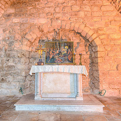 Wild And Wacky Portraits Rights Managed Images - Synagogue Church Altar - Nazareth - Israel Royalty-Free Image by Steve Lagreca