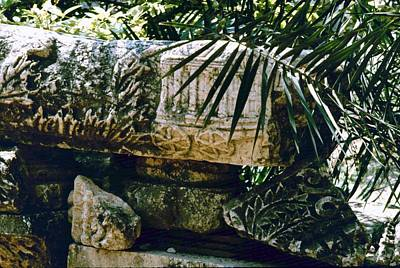 Photograph - Synagogue Of Capernaum  by Donna Walsh