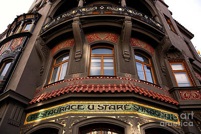 Photograph - Synagogue Restaurant by John Rizzuto
