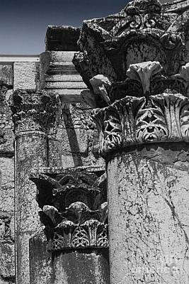 Greek Columns Photograph - Synagogue Stone by Tom Griffithe