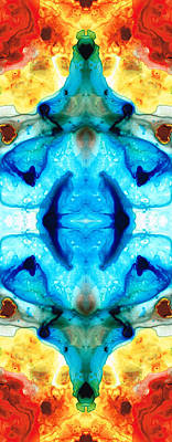 Kaleidoscope Painting - Synchronicity - Colorful Abstract Art By Sharon Cummings by Sharon Cummings