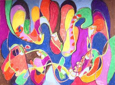 Drawing - Syncopated Rhythm by Esther Newman-Cohen