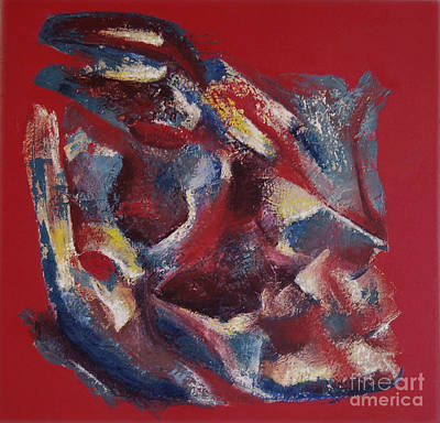 Art Print featuring the painting Syncopation by Mini Arora