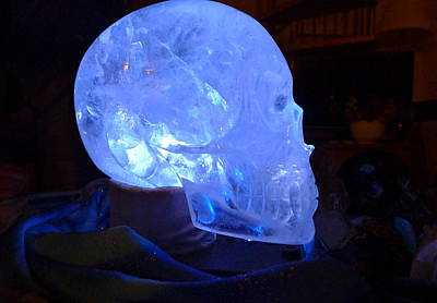 Photograph - Synergy Crystal Skull by Denise Mazzocco