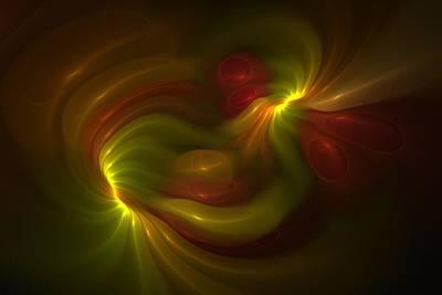 Gummy Digital Art - Synesthesia by Doug Morgan