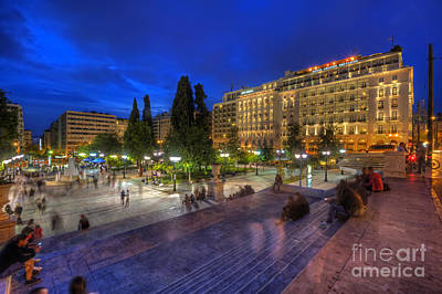 Photograph - Syntagma Square by Yhun Suarez