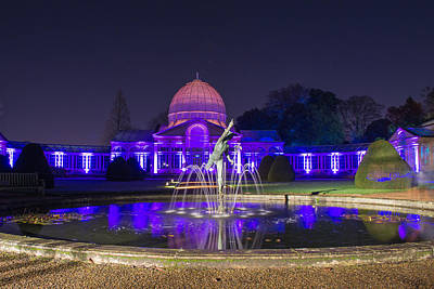 Photograph - Syon House All Lit Up by Andrew Lalchan