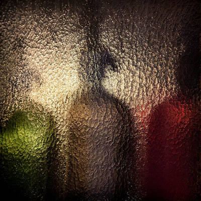 Coloured Glass Photograph - Syphons by Dave Bowman