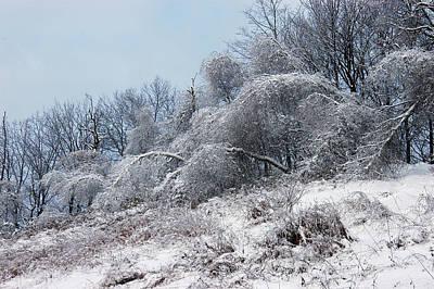 Syracuse Ice Storm Art Print