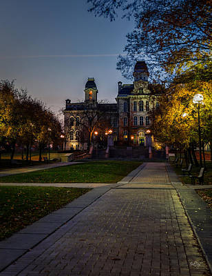 Syracuse University Photograph - Syracuse University  by Everet Regal